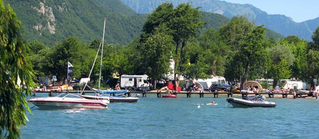 Camping Annecy en Haute-Savoie