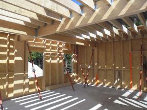 faire soi m me une maison ossature bois en kit. Black Bedroom Furniture Sets. Home Design Ideas