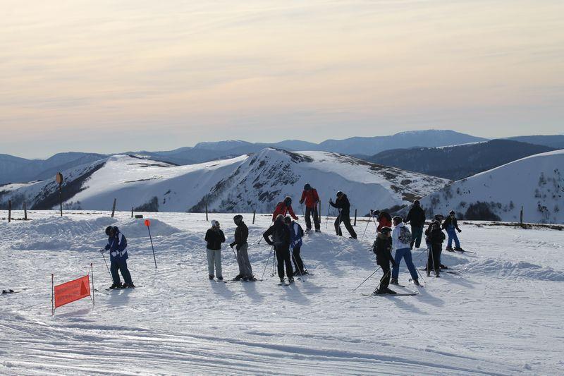 le tourisme aux sports d'hiver